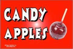Candy Apples Flag