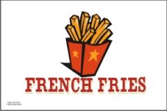 French Fries Flag