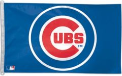 Chicago Cubs Logo Flag