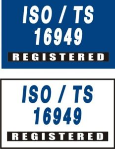 ISO/TS 16949 Registered Flag