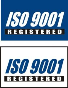 ISO QS 9001 Registered Flag
