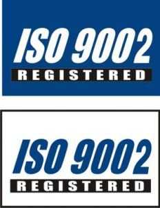 ISO QS 9002 Registered Flag