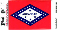 Arkansas Flag Decal Sticker
