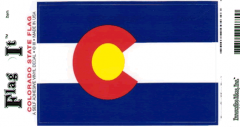 Colorado Flag Decal Sticker