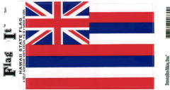 Hawaii Flag Decal Sticker
