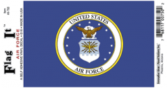 Air Force Seal Decal Sticker