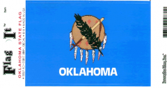 Oklahoma Flag Decal Sticker