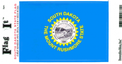 South Dakota Flag Decal Sticker