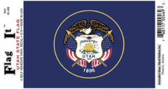 Utah Flag Decal Sticker