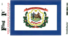 West Virginia Flag Decal Sticker