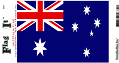 Australia Flag Decal Sticker