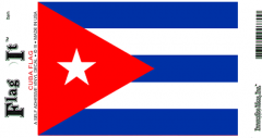 Cuba Flag Decal Sticker