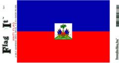 Haiti Flag Decal Sticker