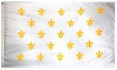 French Fleur -De-Lis (23) Flag