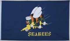 SeaBees Navy Flag