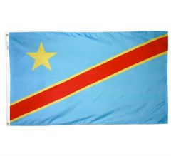 Congo, Democratic Republic Flag