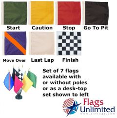 Auto Racing Flag Set (7 Flags)