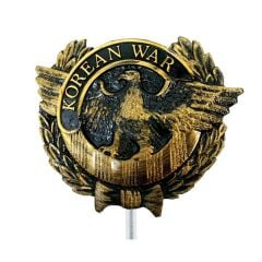 Korean War Veterans Grave Marker Plastic