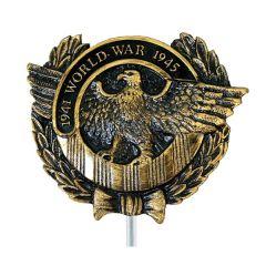 Word War II WWII Veterans Grave Marker Plastic