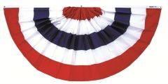 Pleated Full Fan Bunting
