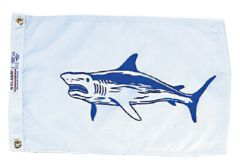 Fish Flag - Shark Design