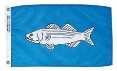 Fish Flag - Striped Bass Design