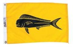 Fish Flag - Dolphin Design