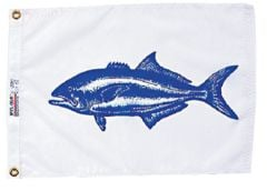 Fish Flag - Bluefish Design