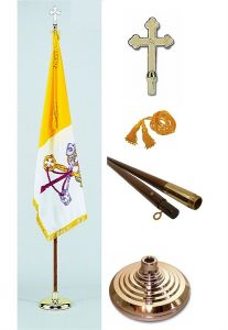 Papal/Vatican City Flag - Indoor Set