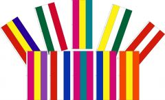 3 Stripe Attention Tall Flag