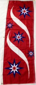Patriotic Stars Flag