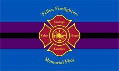 Fallen Firefighters Memorial Flag