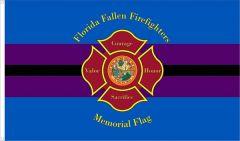 Florida Fallen Firefighters Memorial Flag