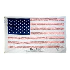 Flag Of Heroes 9/11 Flag