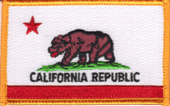 California Flag Patch