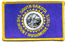 South Dakota Flag Patch