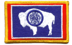 Wyoming Flag Patch