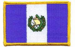 Guatemala Flag Patch