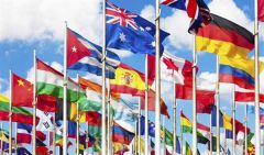 193 Flag United Nations Member Set