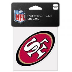 San Francisco Forty Niners 49ers NFL Decal Sticker