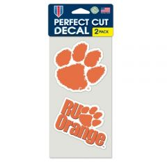 Clemson Tigers Tide Decal Sticker