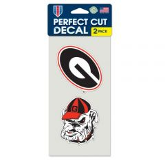 Georgia Bulldogs Decal Sticker
