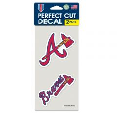 Atlanta Braves Decal Sticker