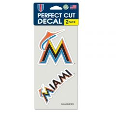 Miami Florida Marlins Decal Sticker