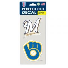 Milwaukee Brewers Decal Sticker