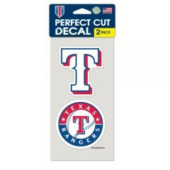 Texas Rangers Decal Sticker