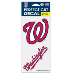 Washington Nationals Decal Sticker