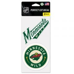 Minnesota Wild Decal Sticker