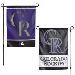 Colorado Rockies Garden Flag