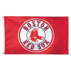 Boston Red Sox Flag Red